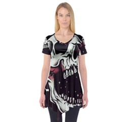 Death Skull Short Sleeve Tunic