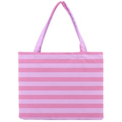 Fabric Baby Pink Shades Pale Mini Tote Bag