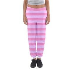 Fabric Baby Pink Shades Pale Women s Jogger Sweatpants