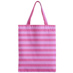 Fabric Baby Pink Shades Pale Zipper Classic Tote Bag