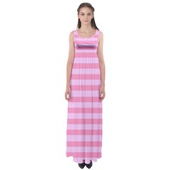 Fabric Baby Pink Shades Pale Empire Waist Maxi Dress