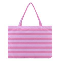 Fabric Baby Pink Shades Pale Medium Tote Bag