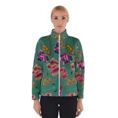 Flowers Pattern Winterwear