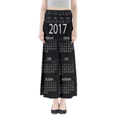 Full 2017 Calendar Vector Maxi Skirts