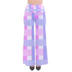 Gingham Checkered Texture Pattern Pants