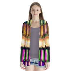 Glass Colorful Stained Glass Cardigans