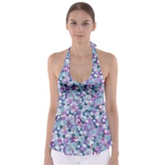 Decorative bubbles Babydoll Tankini Top
