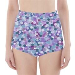 Decorative bubbles High-Waisted Bikini Bottoms