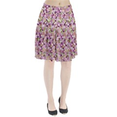 Colorful bubbles Pleated Skirt
