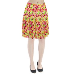 Playful bubbles Pleated Skirt
