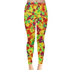 Bubbles Pattern Leggings