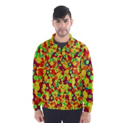 Bubbles pattern Wind Breaker (Men)