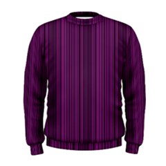 Deep Purple Lines Men s Sweatshirt