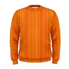 Orange Pattern Men s Sweatshirt
