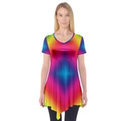 Hippie  Short Sleeve Tunic