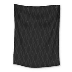Black Pattern Medium Tapestry