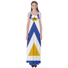 Roundel of The Myanmar Air Force Empire Waist Maxi Dress