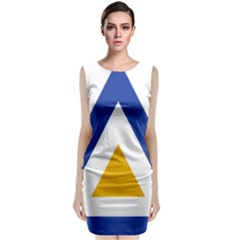 Roundel of The Myanmar Air Force Classic Sleeveless Midi Dress