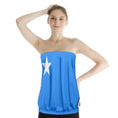 Flag Of The Myanmar Air Force Strapless Top