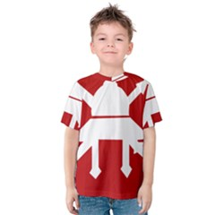 Flag of The Myanmar Army Kids  Cotton Tee