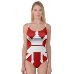 Flag of The Myanmar Army Camisole Leotard