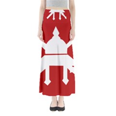 Flag of The Myanmar Army Maxi Skirts