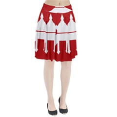 Flag of The Myanmar Army Pleated Skirt