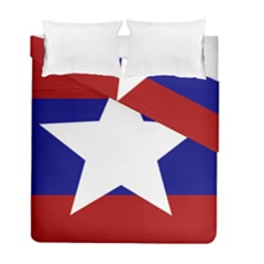 Flag Of The Bureau Of Special Operations Of Myanmar Army Duvet Cover Double Side (full/ Double Size)