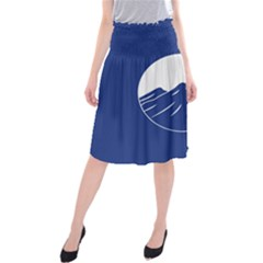 Flag of Myanmar Kachin State	 Midi Beach Skirt