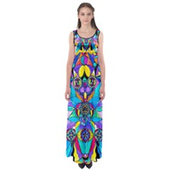 The Cure   Empire Waist Maxi Dress