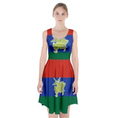 Flag of Myanmar Kayah State Racerback Midi Dress