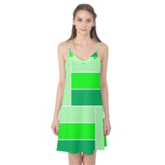 Green Shades Geometric Quad Camis Nightgown