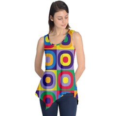 Kandinsky Circles Sleeveless Tunic
