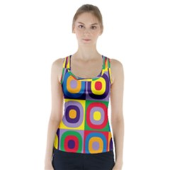 Kandinsky Circles Racer Back Sports Top