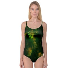 Light Fractal Plants Camisole Leotard