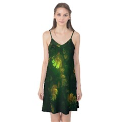 Light Fractal Plants Camis Nightgown