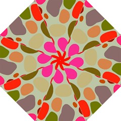 Pattern Design Abstract Shapes Straight Umbrellas