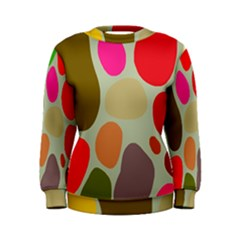 Pattern Design Abstract Shapes Women s Sweatshirt