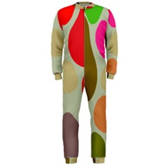 Pattern Design Abstract Shapes OnePiece Jumpsuit (Men)