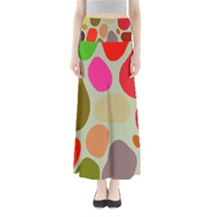 Pattern Design Abstract Shapes Maxi Skirts