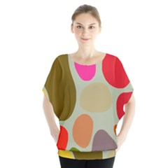 Pattern Design Abstract Shapes Blouse