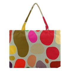 Pattern Design Abstract Shapes Medium Tote Bag