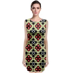 Seamless Tileable Pattern Design Classic Sleeveless Midi Dress