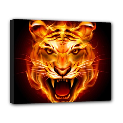 Tiger Deluxe Canvas 20  x 16