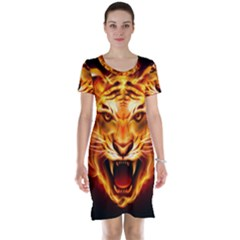 Tiger Short Sleeve Nightdress