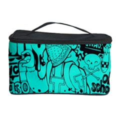Typography Illustration Chaos Cosmetic Storage Case