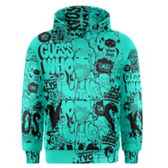Typography Illustration Chaos Men s Pullover Hoodie