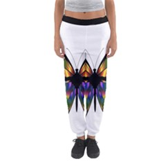 Abstract Animal Art Butterfly Women s Jogger Sweatpants