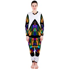 Abstract Animal Art Butterfly Onepiece Jumpsuit (ladies)