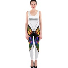 Abstract Animal Art Butterfly OnePiece Catsuit
